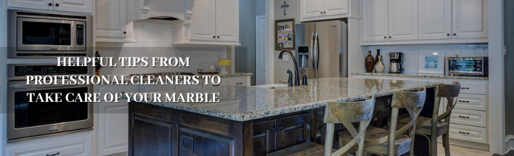 Helpful tips from professional cleaners to take care of your marble