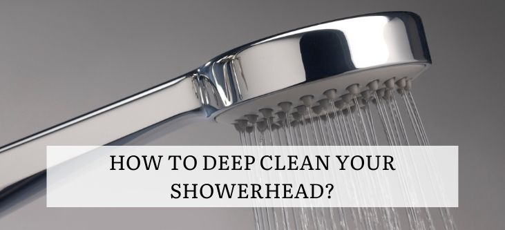 How to deep clean your Showerhead